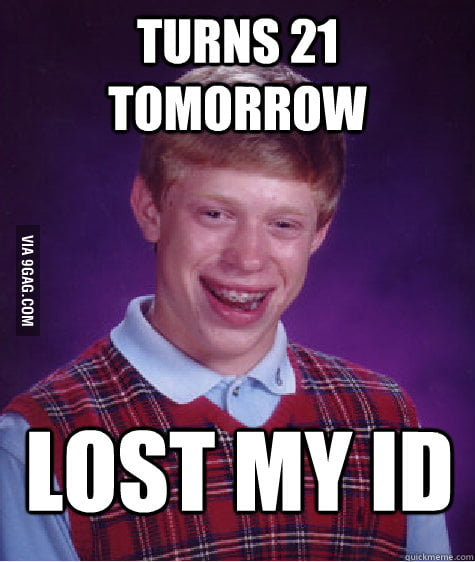 I turned 21 today and this happened to me.