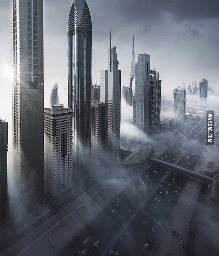 Dubai looks a lot like Coruscant in Star Wars
