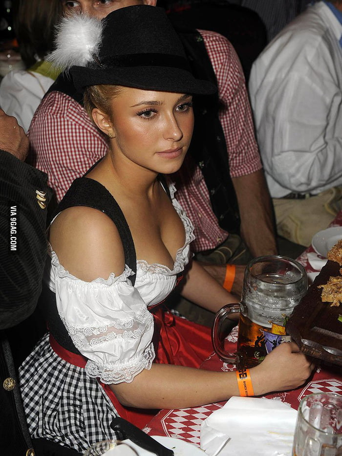 Hayden Panettiere at Oktoberfest
