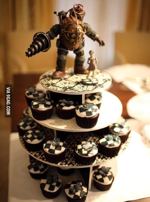 Bioshock Cake