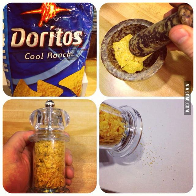 Doritos Powder FTW!