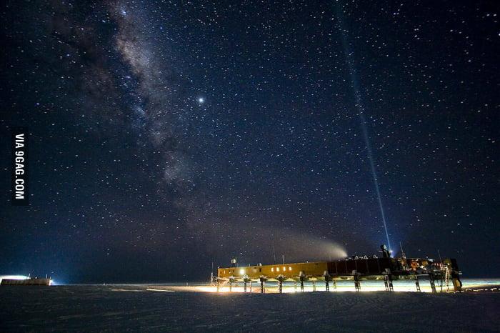The Night Sky in Antarctica