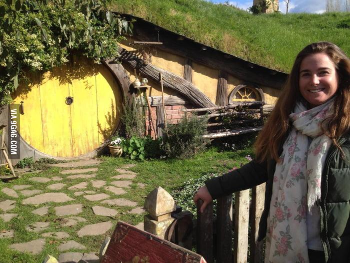 A visit to Hobbiton.