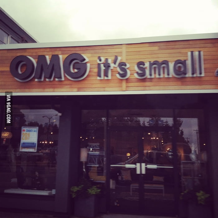 Saw this store in Vancouver: OMG it's small