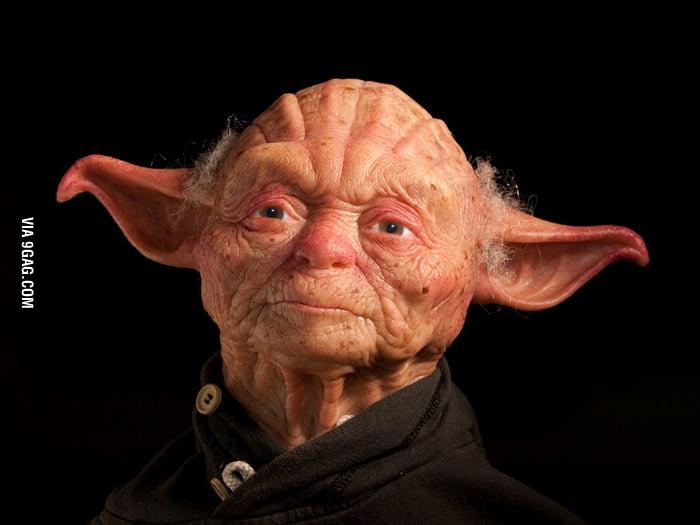 Realistic Yoda Sculpture