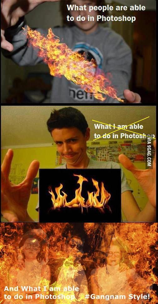 PS: Gangnam, Forever in Fire!