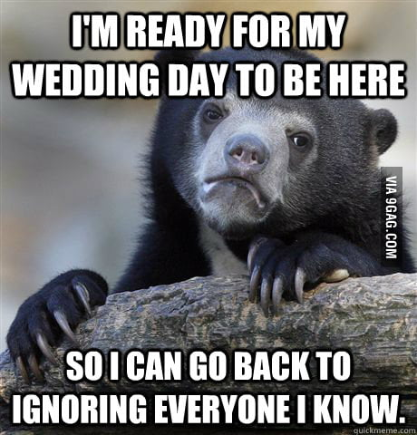 The truth about my wedding day