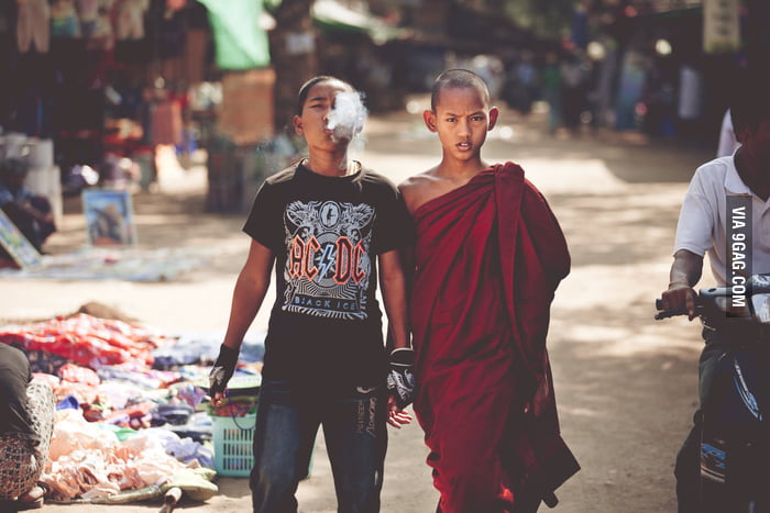 Punk and Monk