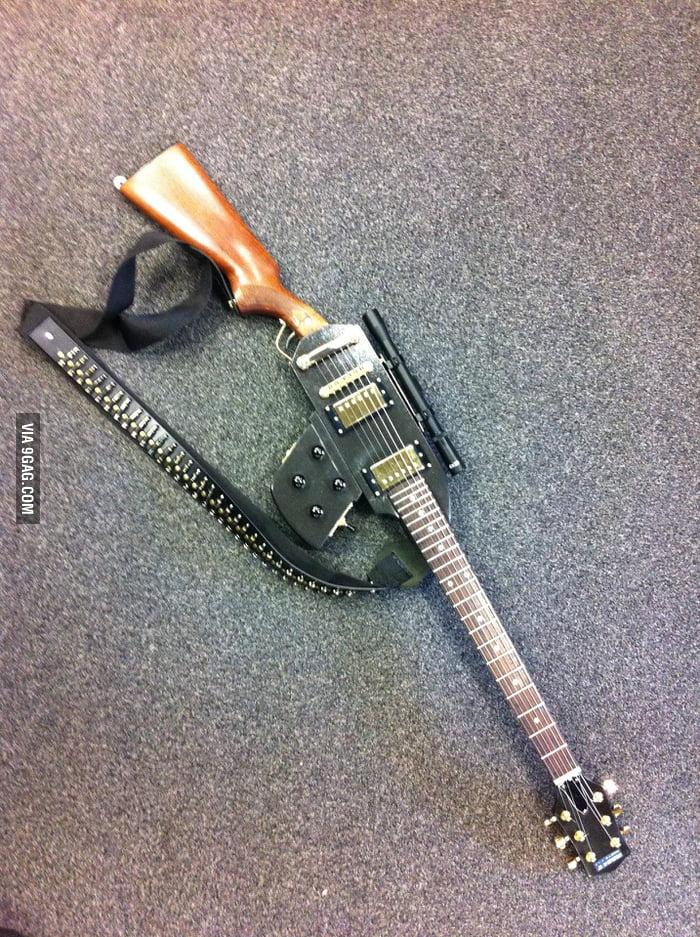 Gun + Guitar = This