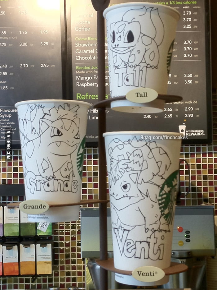 The Starbucks size system
