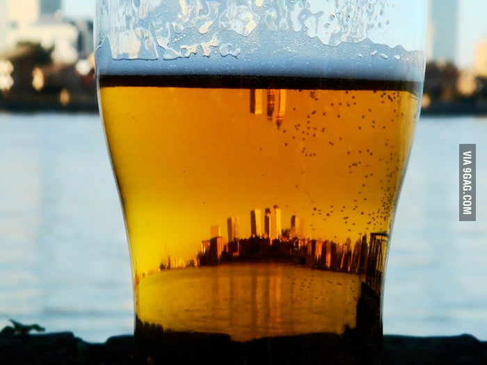 City in a beer.