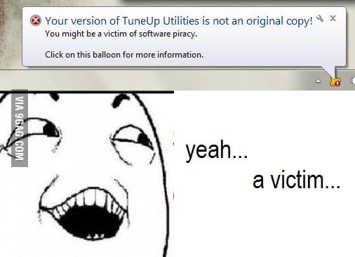 Yeah... Victim...