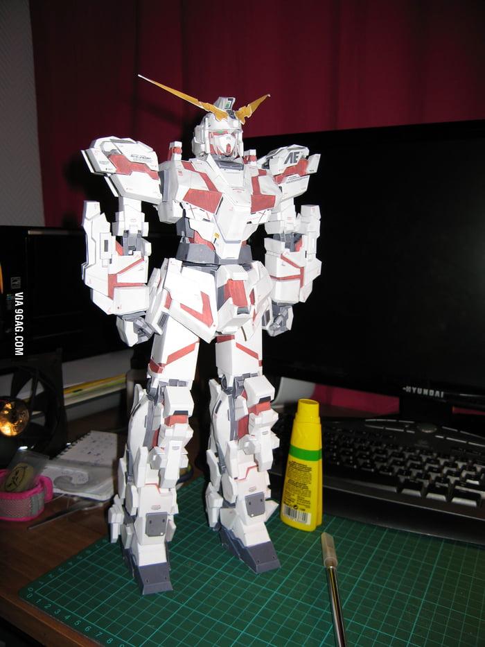 Gundam Papercraft Only Paper 9gag
