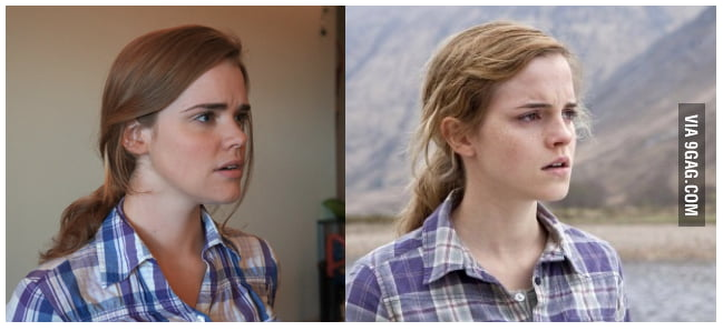 One of my friends look like Emma Watson