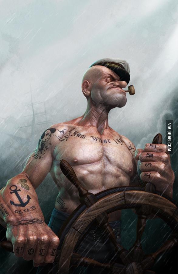 Badass Popeye!