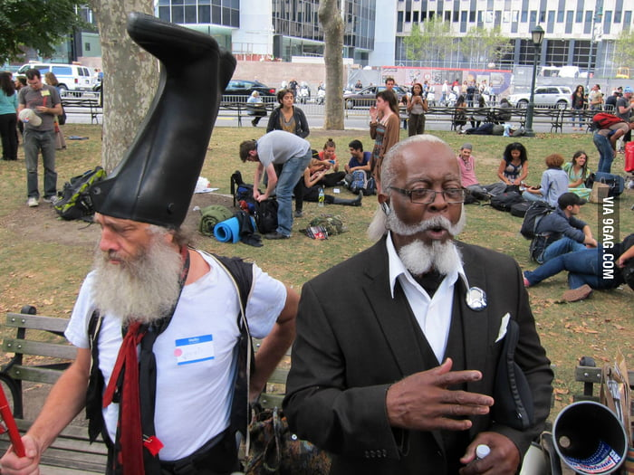 This dude's rubber boot hat is too damn high