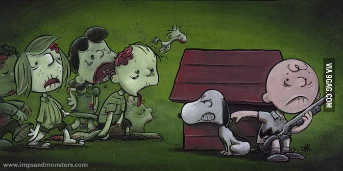 The Walking Dead x Peanuts