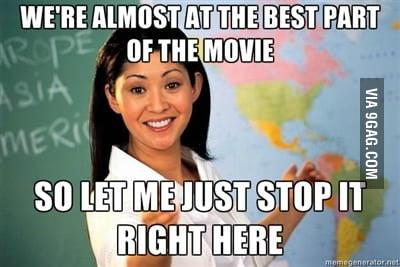 Every teacher I've ever had