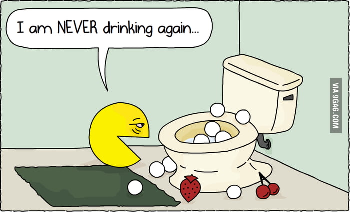 Pac-Man had a rough night