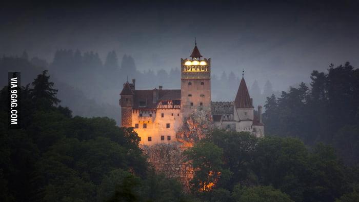 Bran (aka Dracula's) Castle in Braşov, Romania.
