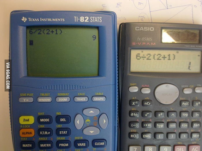 Calculators, why can't you answer such a simple question?