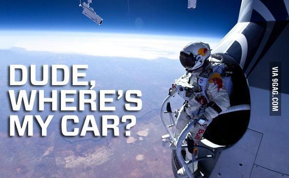 Question in  Felix Baumgartner's mind