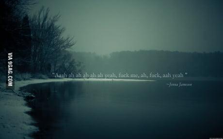 Huge inspirational quote on a landscape - 9GAG