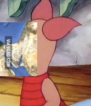 Was looking at a map of the Middle East when I realized