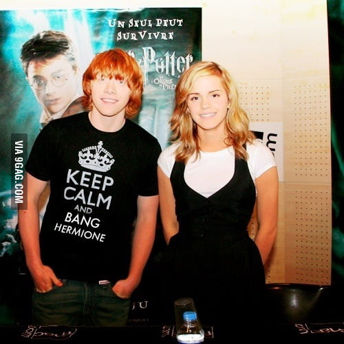 """""""Keep Calm and Bang Hermione"""""""
