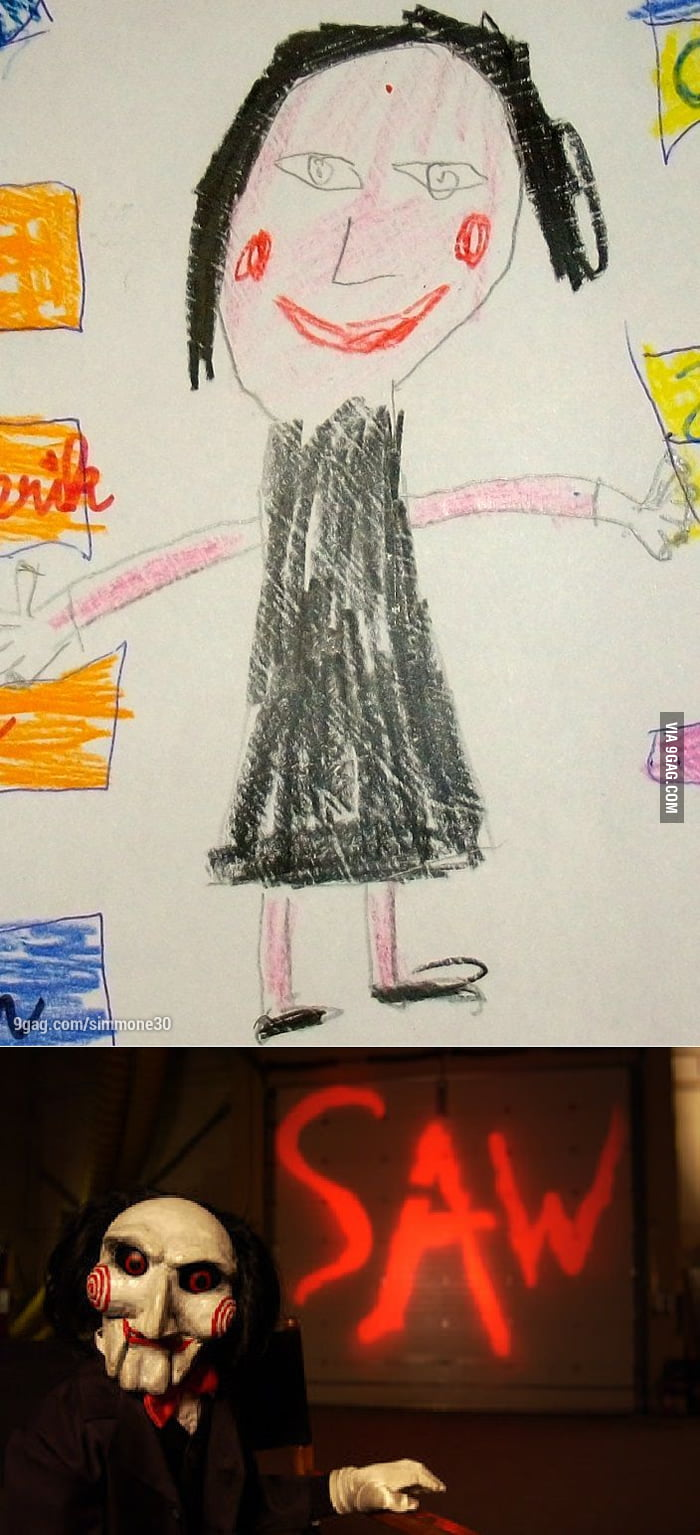 I am a teacher. This is how kids see me. I wonder why.