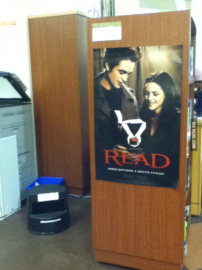 How my school encourages us to read.