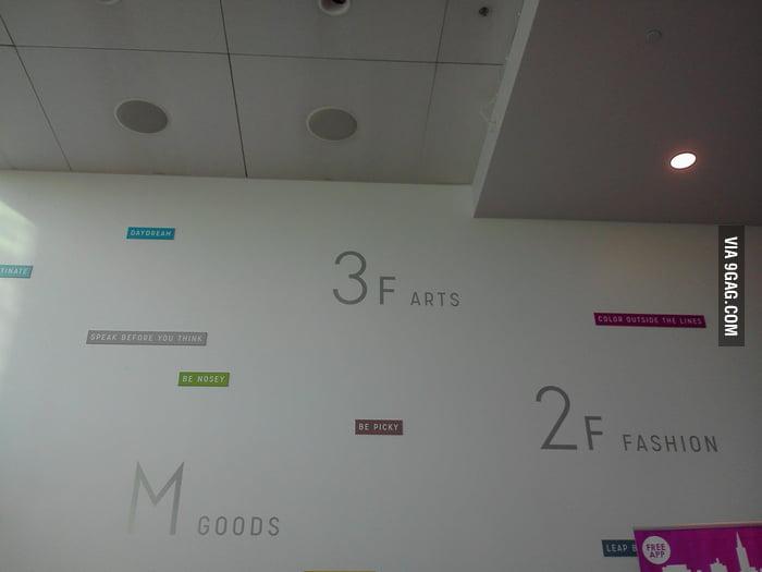 The third floor smells bad