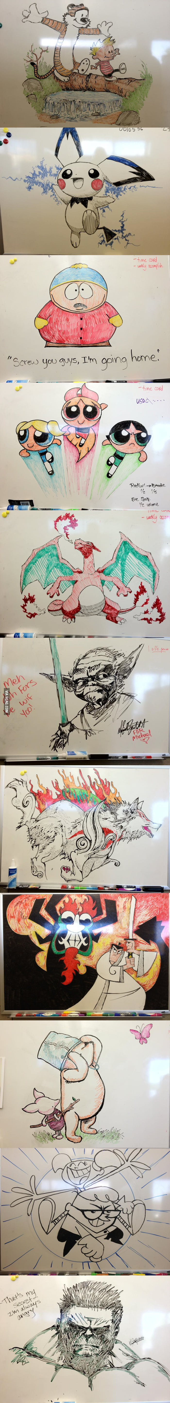 Awesome Whiteboard Drawing