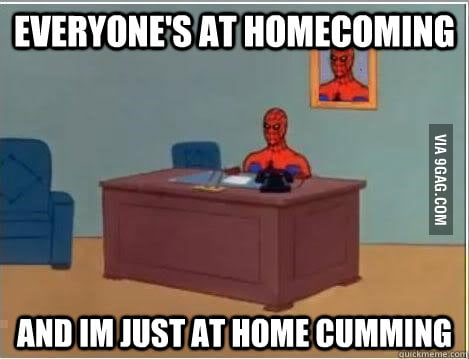 Sums up High School Homecoming