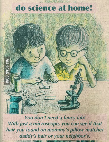 Do science at home!
