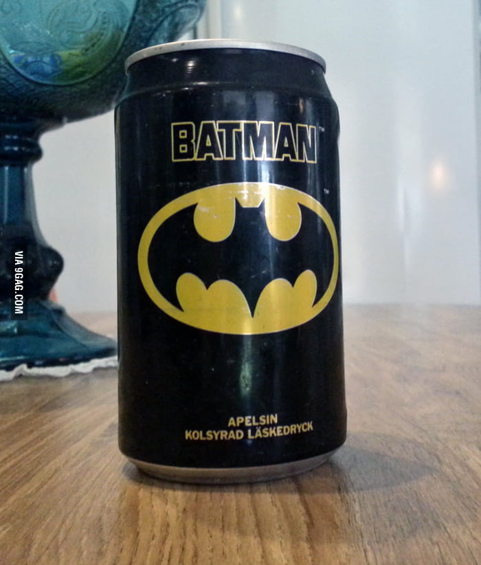 Batman Soda in Sweden, 1989