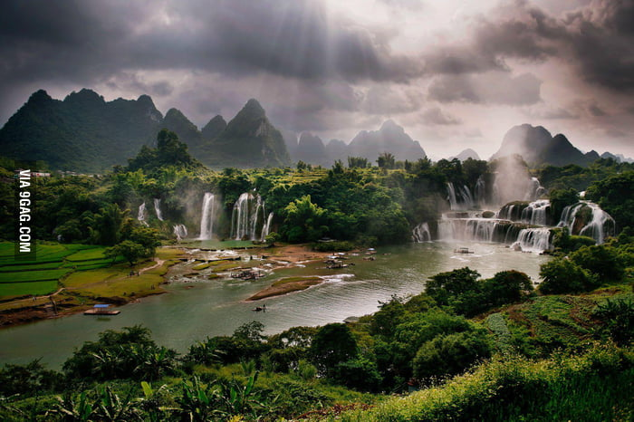 This is not paradise, this is Guangxi, China.