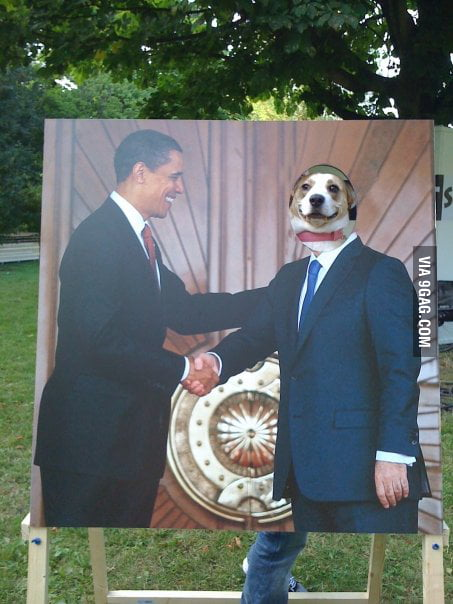 Yes Mr. President, This Is Dog