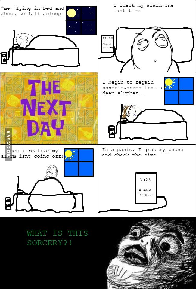 It pisses me off as I treasure every minute of my sleep!