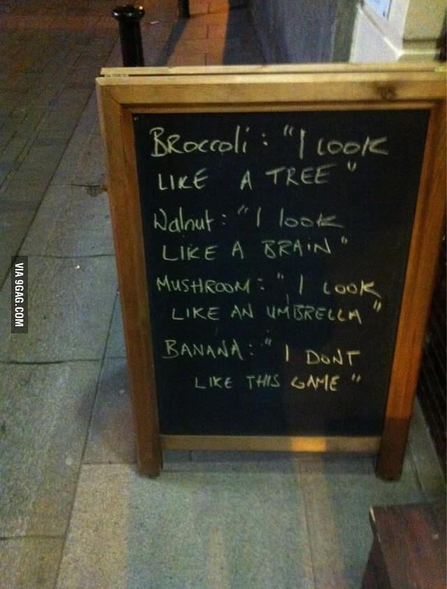 Who knew fruit and veg could be funny!!