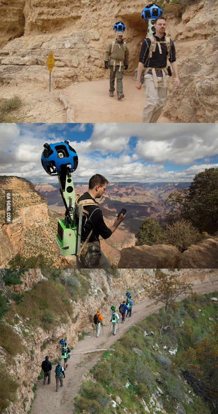 Trekking the Grand Canyon for Google Maps