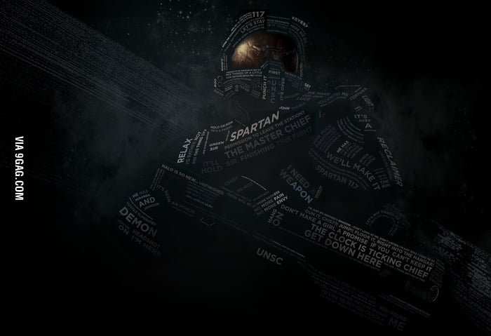 HALO Typography Portrait