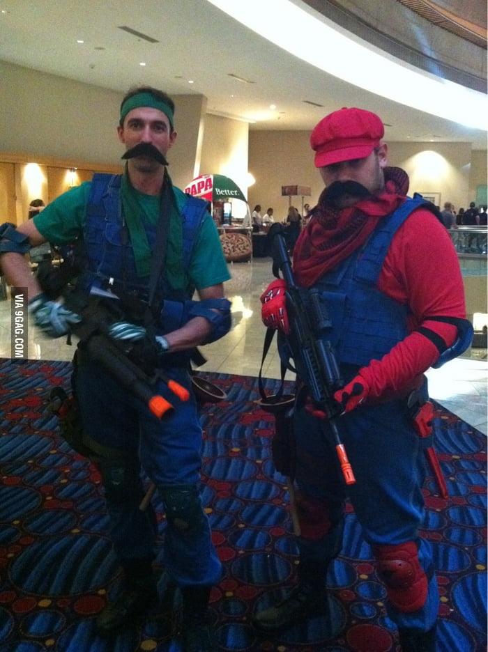 Badass Mario and Luigi