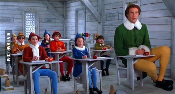 How I feel as a grad student in a first year course.