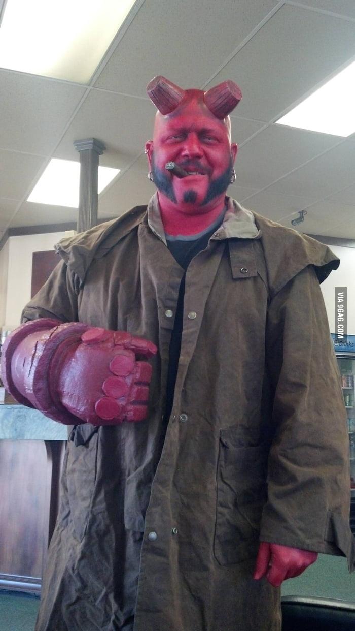 Hellboy in Halloween