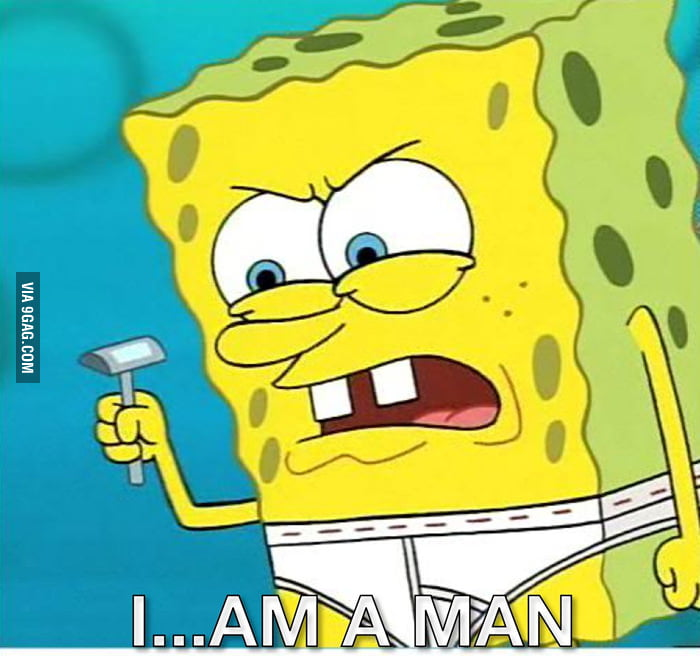 How I feel when I'm 18 and my aunt still calls me a boy.