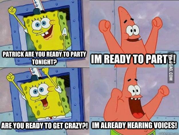 I love Patrick.