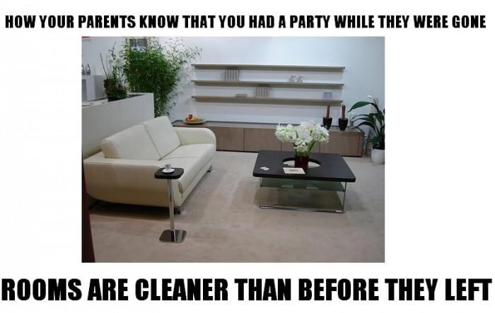 How your parents know...