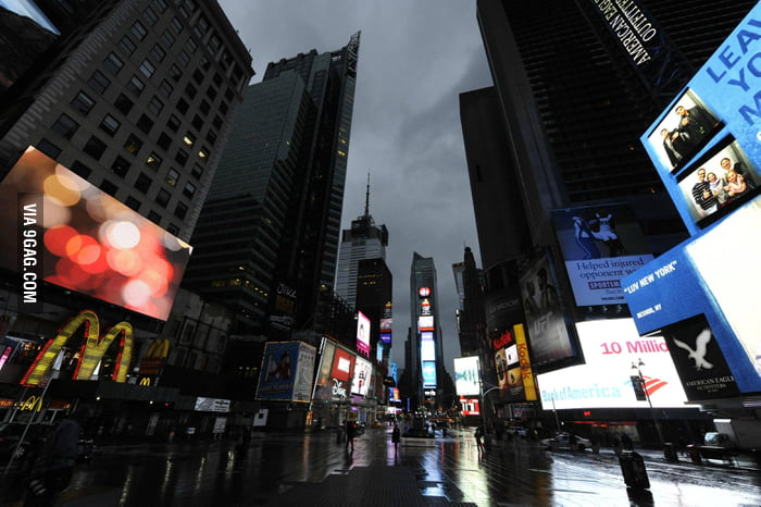 How Times Square looks now