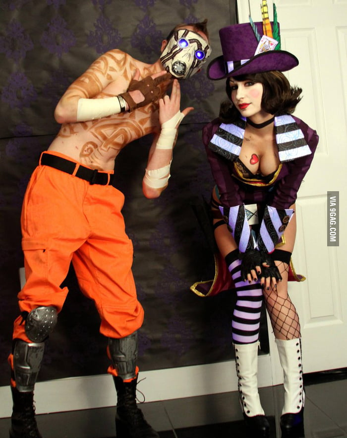 Borderlands 2 Cosplay: Moxxi and Psycho - 9GAG